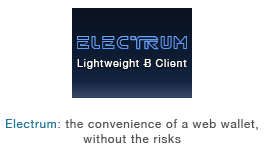 Electrum, lightweight bitcoin client